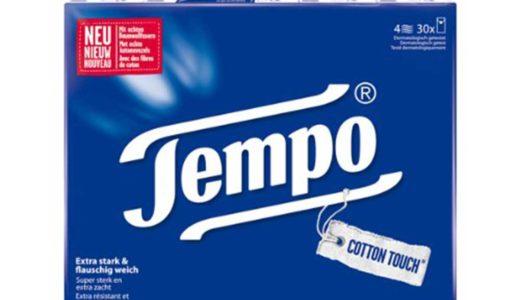 香港ティッシュこと「TEMPO」を正直にレビュー
